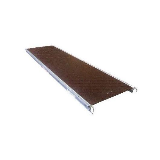 Plancher alu bois sans trappe ALTRAD 3m/0m75