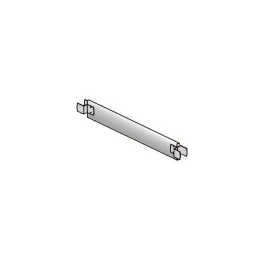 Plinthe d'extrémité acier 0m80 Aeris45