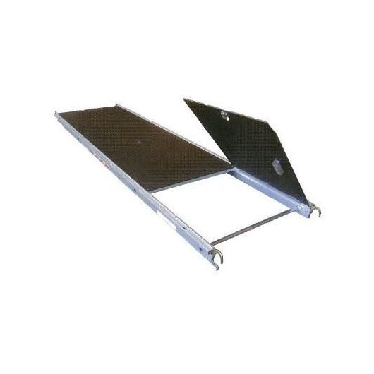 Plancher Alu / Bois à trappe 3m x 0.850m ALTRAD