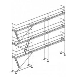 80m² COMABI R200 Lisses Planchers Acier
