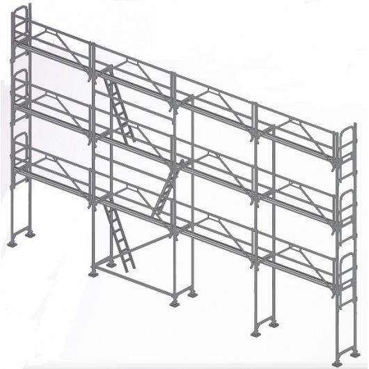 104m² COMABI R200 Planchers Alu/Bois