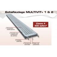 Plancher acier epervier 0.30 x 2.50 m