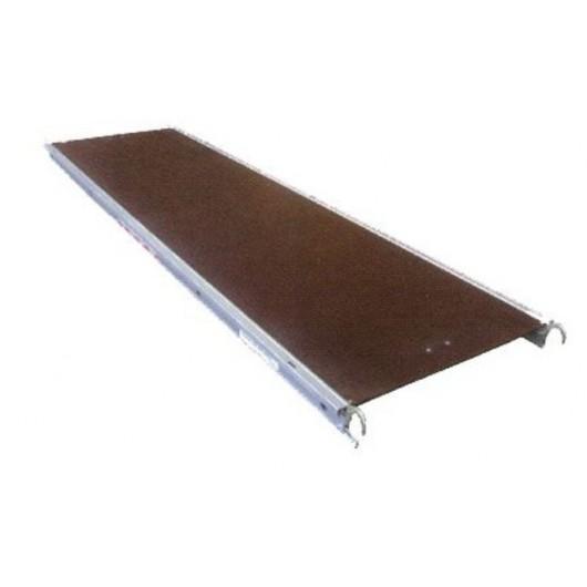 Plancher alu/bois sans trappe 0.60 x 3 m Multivit