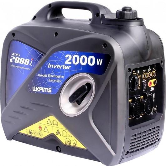 WORMS Groupe électrogène monophasé insonorisé Access 2000i - WORMS