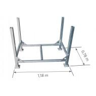 Rack standard acier galvanisé DUARIB