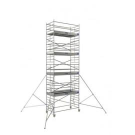 ECHAFAUDAGE ROULANT NEOLIUM 600 - LONGUEUR DE PLANCHER 2.90m - TUBESCA COMABI