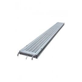 PLANCHER ACIER EPERVIER 0,30 X 2,50M - NF   - GAMME ECHAFAUDAGE MULTIDIRECTIONNEL - MULTIVIT+ 1&2 - ALTRAD - Réf: N4882