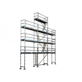 Echafaudage COMABI R200 Progress 88m² Pignon Alu