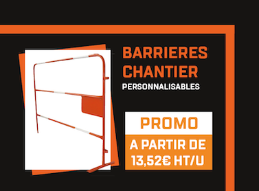 BARRIERES DE CHANTIER