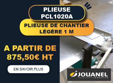 PLIEUSE DE CHANTIER PCL1020A - 1m - JOUANEL