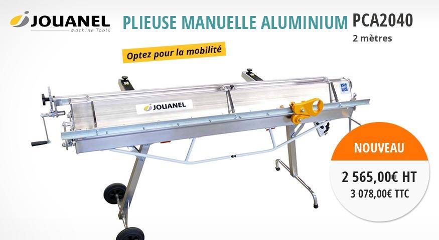 Plieuse manuelle aluminium PCA2040